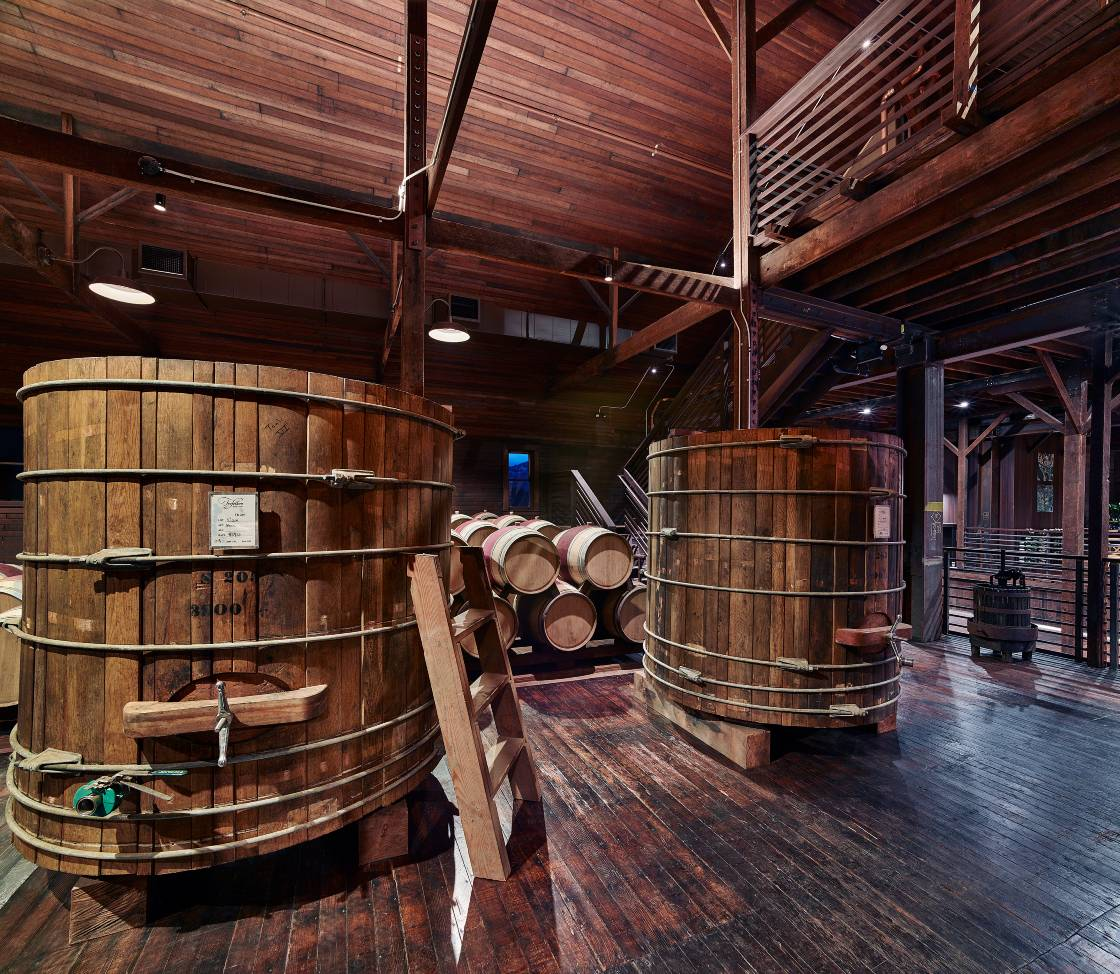 Our historic winery were our wines are still made to this day